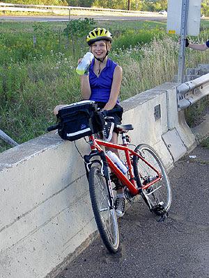 Geneva rests on railway bridge outside Hinckley