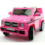 Mercedes G65 Truck AMG 12V Kids Ride-On Car with Remote, Pink