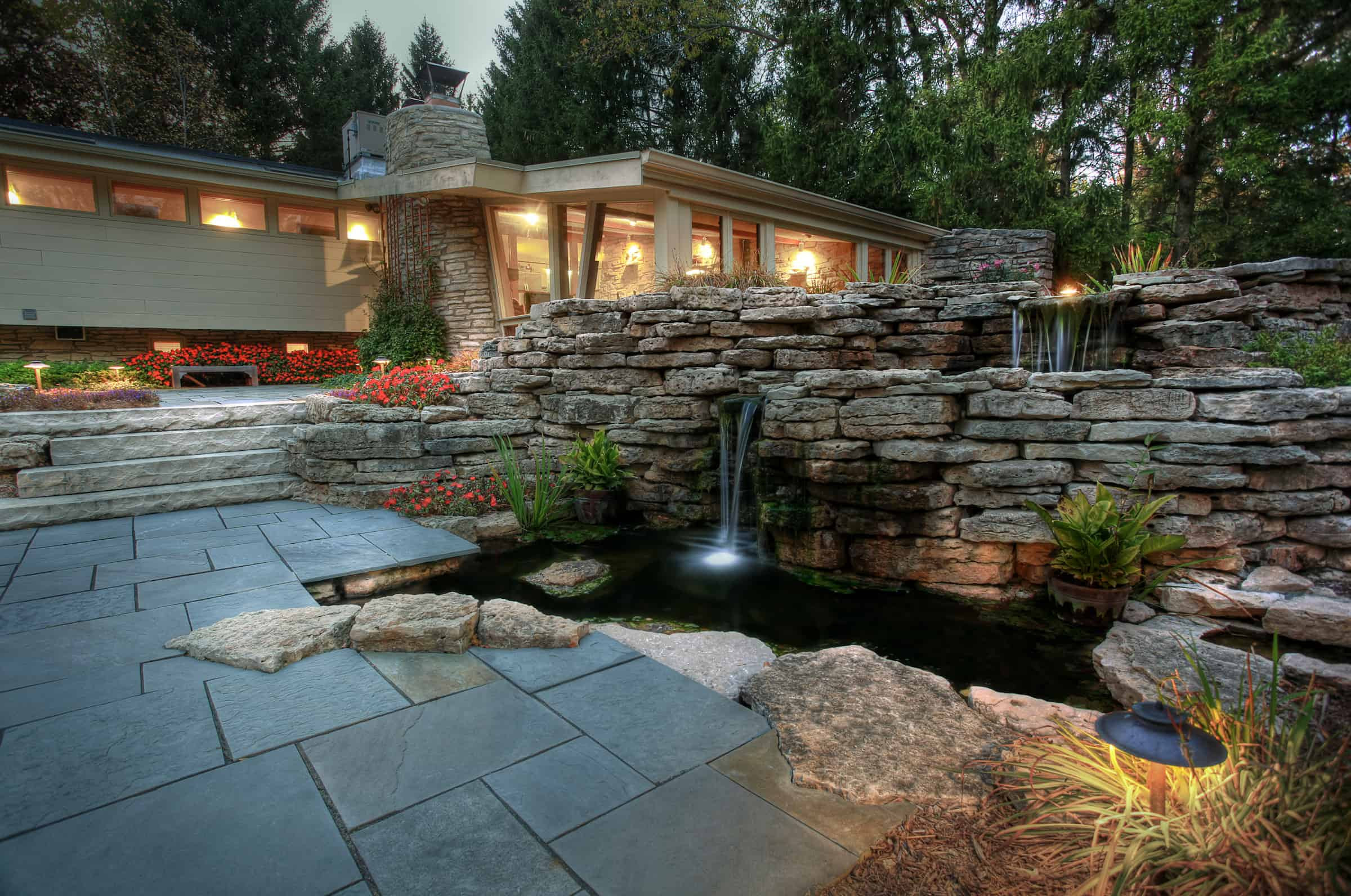 35 Sublime Koi Pond Designs and Water Garden Ideas for ...