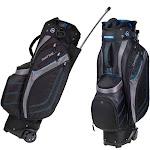 Datrek Golf EZ-Transit Wheeled Cart Bag with Integrated Pull Handle, Black/Gray