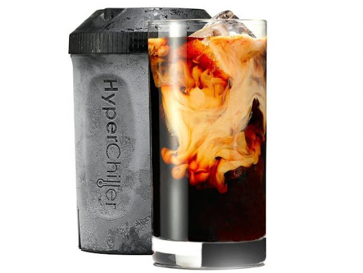 This Hyperchiller Can Cool Hot Beverage To Icy Cold In One Minute