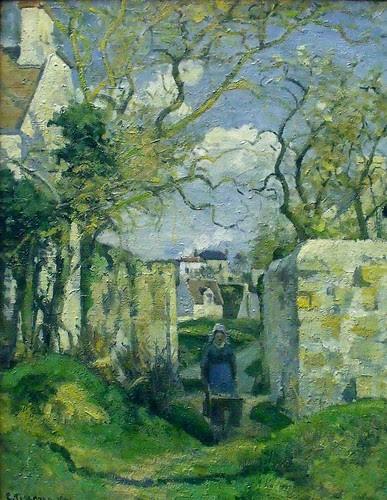 Camille Pissaro, Paysage de Pontoise by magika42000