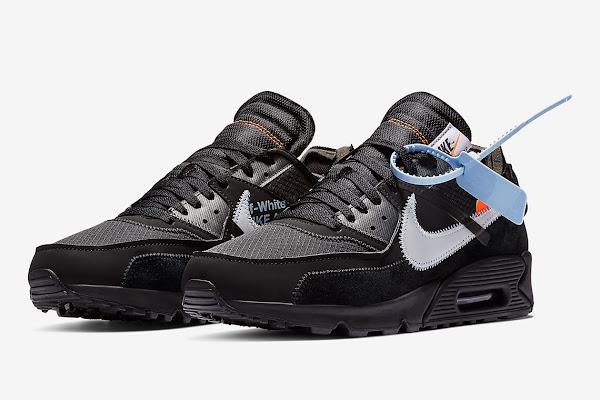 1bd8d4a29d The Off-White x Nike Air Max 90 In Black Is Releasing February 7th