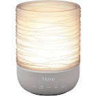 iHome Zenergy Meditative Light & Sound Therapy Candle in Grey