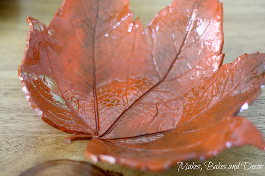 Autumn Leaf Bowls - Makes, Bakes and Decor