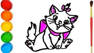 All Clip Of Kedi çizimi Boyama Bhclipcom
