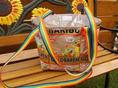 makerist recycling taschen gummibaer naehprojekte