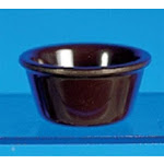 Thunder Group ML537C - Chocolate Smooth Ramekin 3 oz (48 per Case)