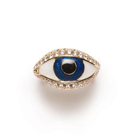 Diamond Eye Ring   Nora Kogan