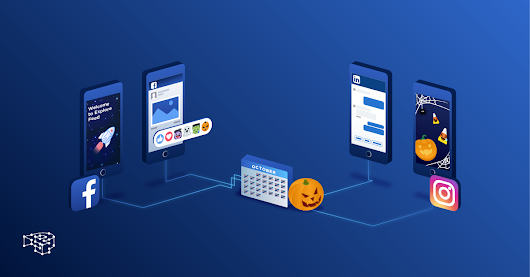 Social Media Updates in October is not only about Halloween!