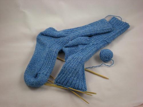 Socks almost done