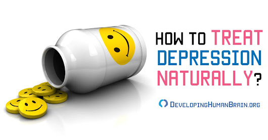 How to Treat Depression Naturally – Natural Antidepressants