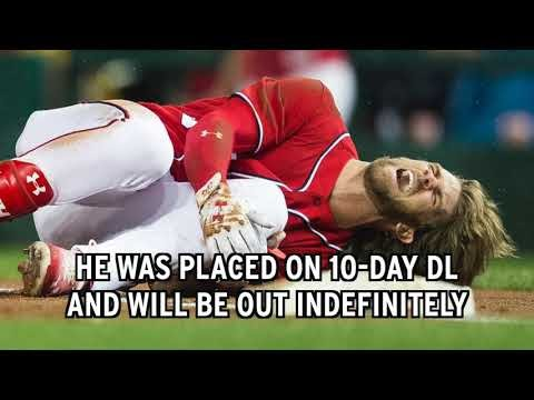 Bryce Harper Suffers Scary Knee Injury After Wild Slip Bryce Harper Out The Washington Nationals suffered...
