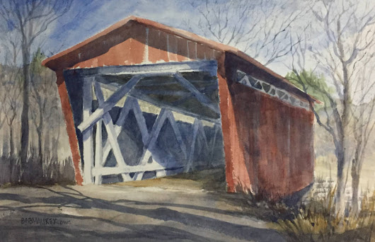 Joys and challenges of painting outdoors reflected in Plein Air exhibit - ArtOnLine
