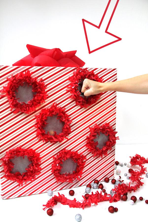 DIY Punch Box Advent Calendar