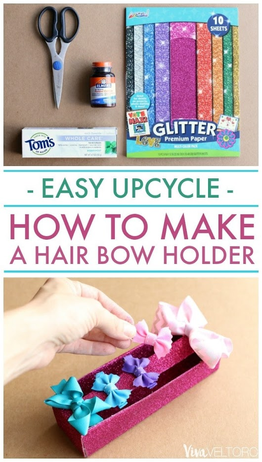 How to Make a Hair Bow Holder – Easy Upcycle DIY!