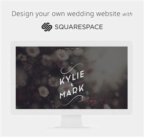Design Your Own Wedding Website with Squarespace   Green