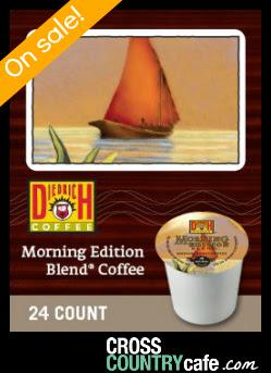 Diedrich Morning Edition Blend Keurig K-cup coffee