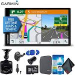 "Garmin DriveSmart 61LMT-S GPS Navigator - 6.95"" - widescreen Touch Display - North America"