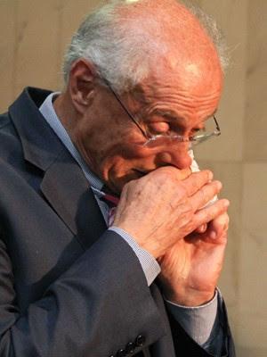 """Julgamento do mensalão """"é doído"""", disse Eduardo Suplicy (PT-SP) (Foto: André Borges/Folhapress)"""