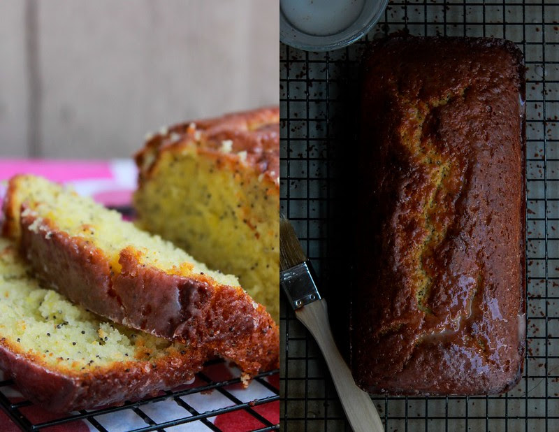 LEMON - POPPY SEED OLIVE OIL POUND CAKE