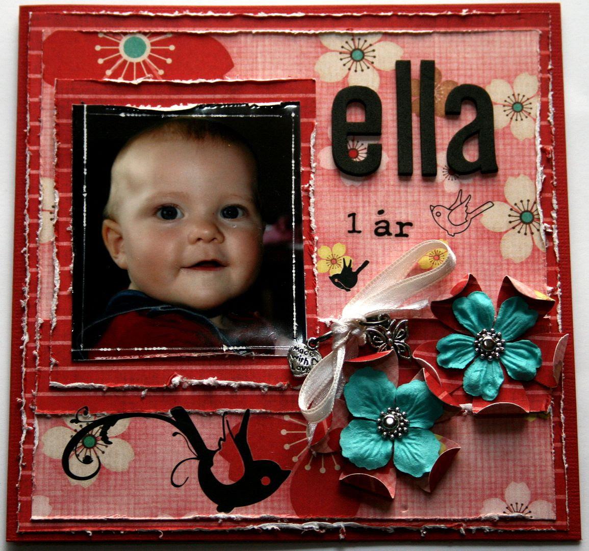Lille Ella Margrethe på fremsiden