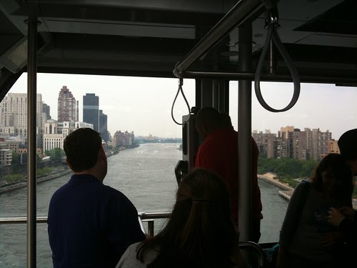 The East River from the tram
