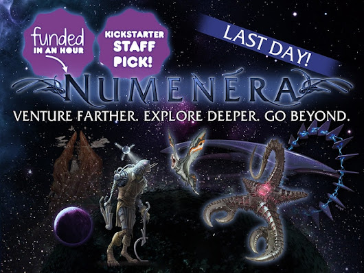 Numenera: Into the Ninth World by Monte Cook Games — Kickstarter