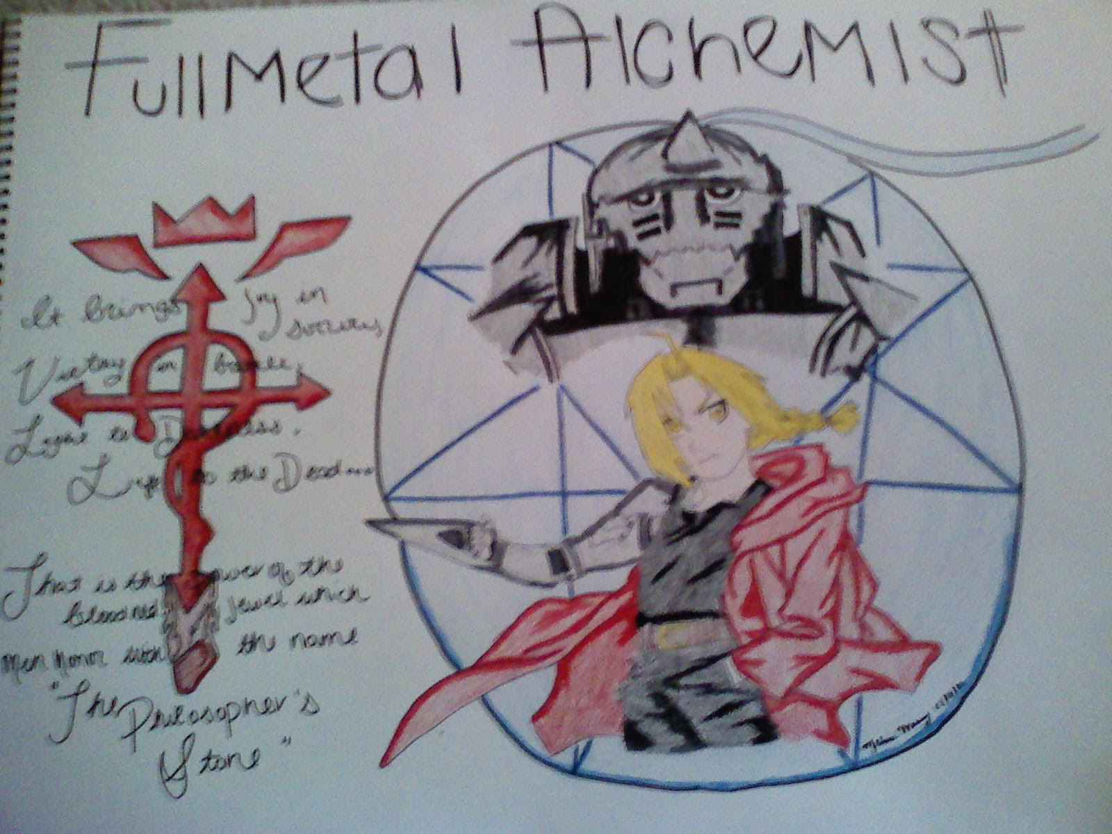 The Philosophers Stone Fullmetal Alchemist Manga Fan Art