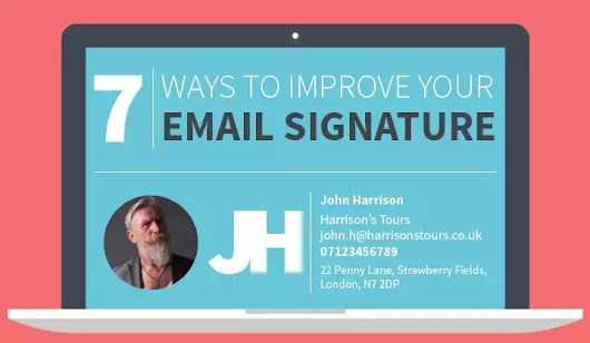 How To Create Perfect Email Signature - Getting Geek
