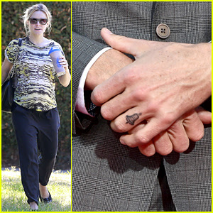 Dax Shepard Got a Bell Tattoo on His Ring Finger in Honor of His Wife ...