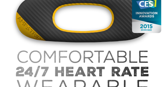 CLICK HERE to support AmpStrip - Comfortable 24-7 heart rate wearable