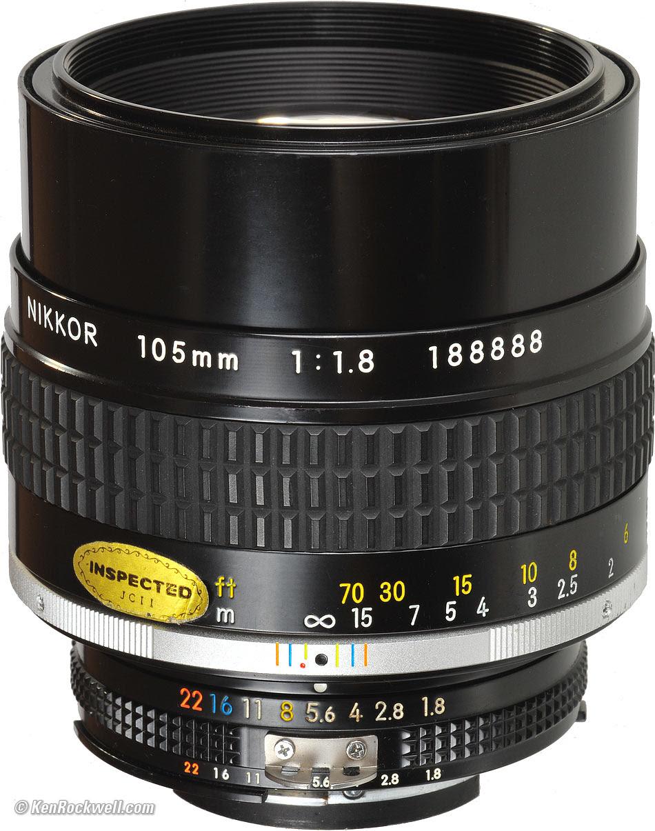 Nikon 105mm f/1.8
