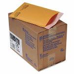 Sealed Air Jiffylite Self-Seal Mailer, 5 x 10, Gold Brown, 25/Carton (SEL10184)