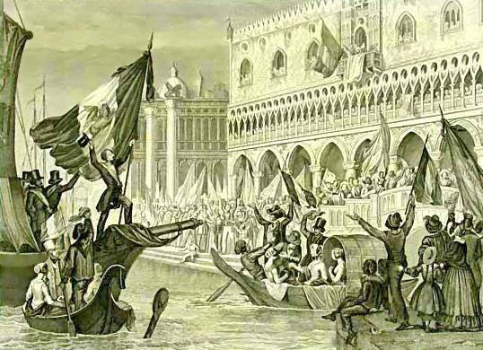 File:Sanesi - La proclamazione della Repubblica di San Marco, Marzo 1848 - litografia - ca. 1850.jpg
