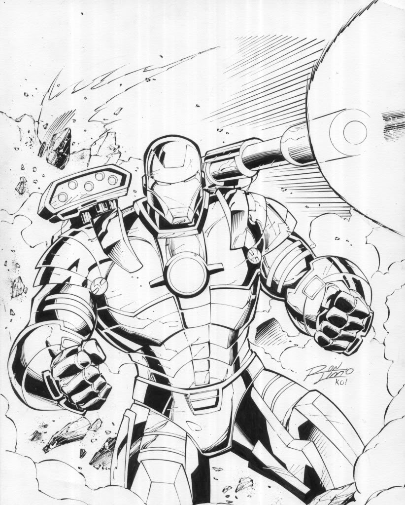 War Machine Drawing at GetDrawings | Free download