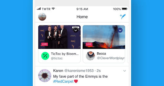 Twitter Bumps Live Streams to the Top of the Timeline - Search Engine Journal