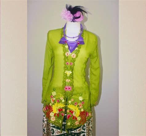 kumpulan foto model baju kebaya encim betawi trend baju