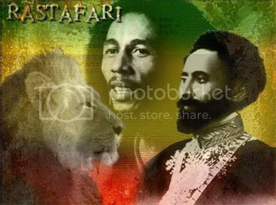 Bob Marley, Haillie Selassie and the  Lion Of Judah