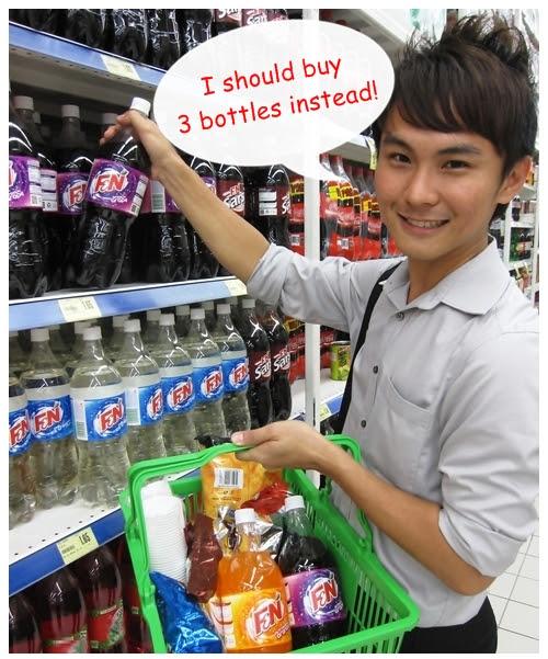 F&N shopping 3