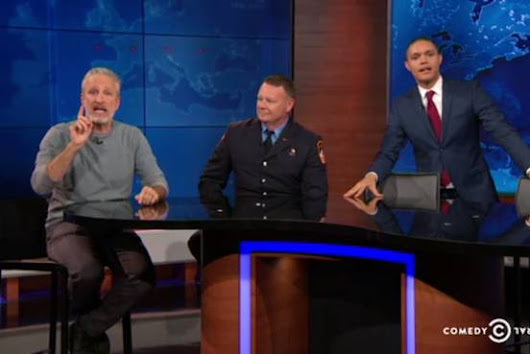 Jon Stewart Returns to 'The Daily Show' to Push Health Care Bill for 9/11 First Responders