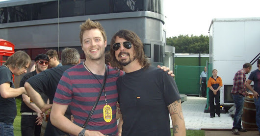 Business set up in a Shaw shed now counts rock stars including Dave Grohl as clients
