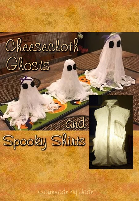 Cheesecloth Ghosts and Spooky Shirts