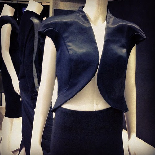 Heard that Univers was starting to stock Paco Rabanne, so went to check the pieces out. The construction of this cropped sculptural jacket is amazing.