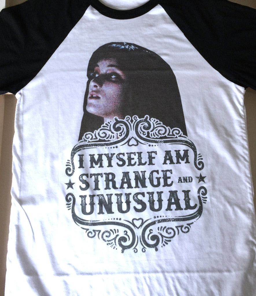 I Myself Am Strange And Unusual Beetlejuice Lydia Quote Halloween