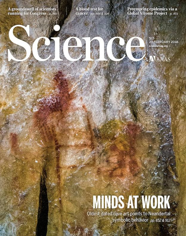 Portada de la revista 'Science'