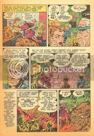 1950's Wally Wood comic book scans space heroes