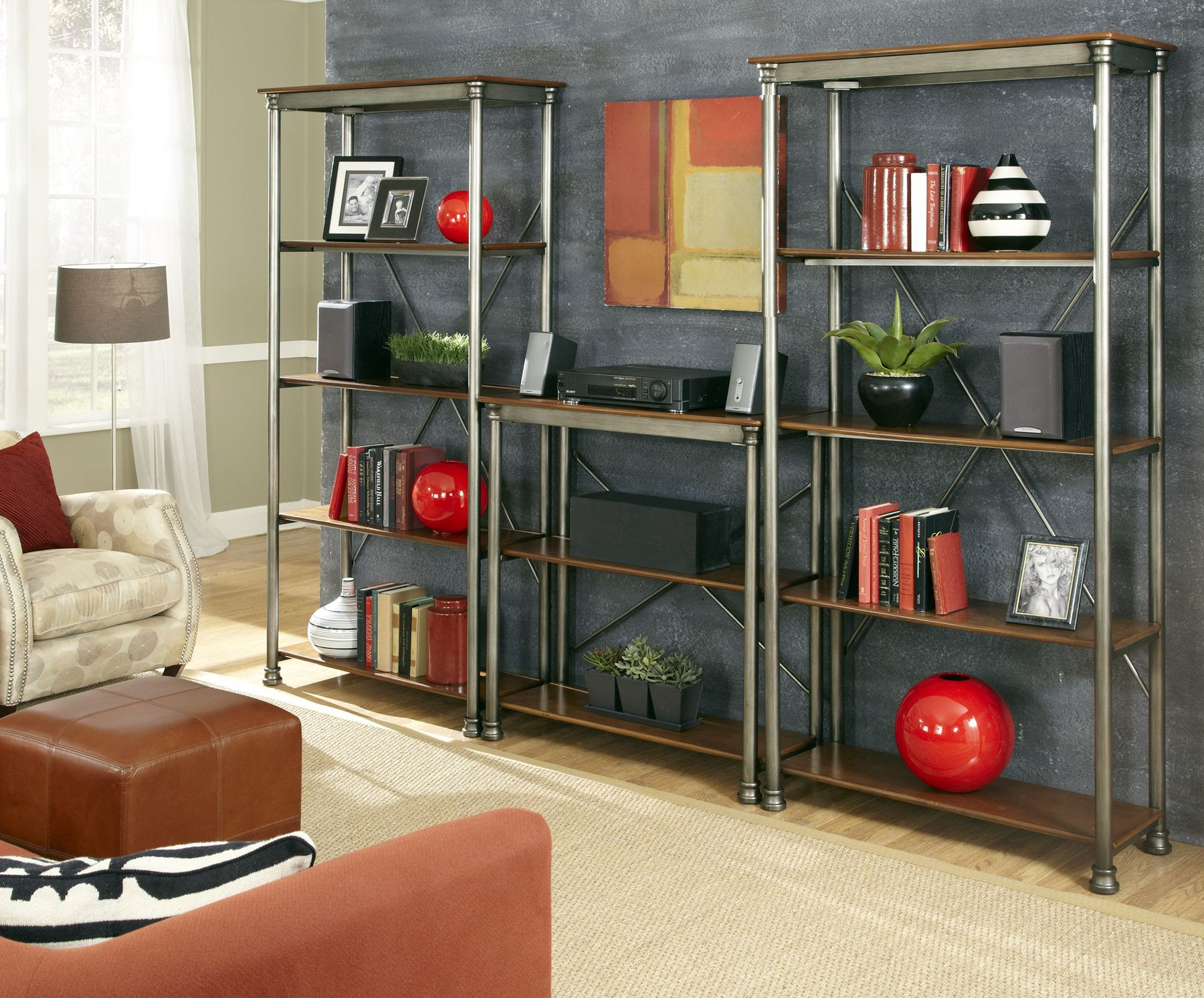 Home Styles The Orleans Multi-Function Shelves - Furniture ...