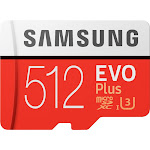 Samsung - EVO Plus 512GB microSDXC UHS-I Memory Card
