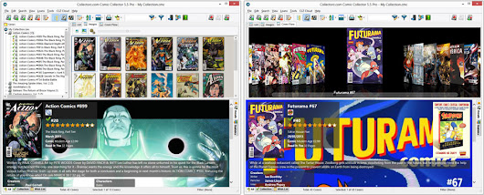Comic Book Database Software, catalog your comic book collection on Windows or Mac OS X
